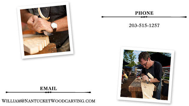 Nantucket Woodcarving Contact Info