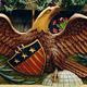 Stained Eagle and Shield